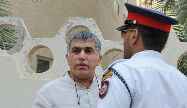 127 سازمان حقوق بشری آزادی نبیل رجب را خواهان شدند