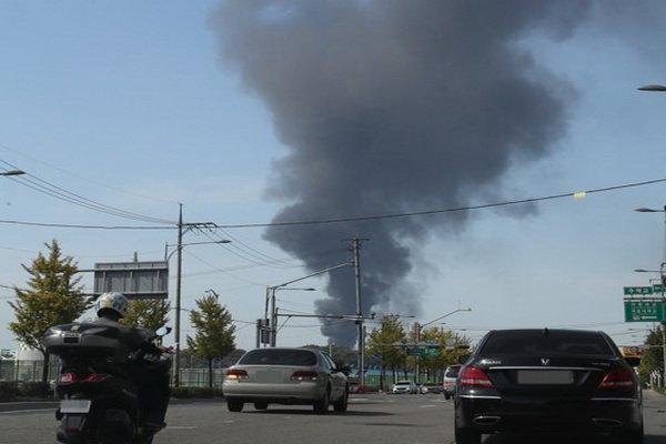 یک مخزن نفت با 77 میلیون لیتر بنزین در پایتخت کره جنوبی منفجر شد